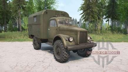 Le GAZ-63 pour MudRunner