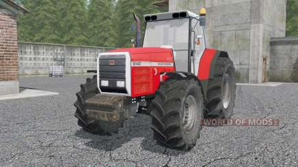 Massey Ferguson 81ꝝ0 für Farming Simulator 2017