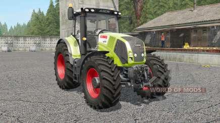Claas Axion 810〡830〡8ⴝ0 für Farming Simulator 2017