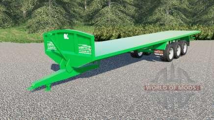 Larrington 42ft Flat Deck für Farming Simulator 2017