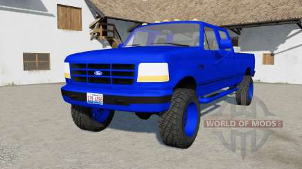 Ford F-350 Powerstroke XLT Crew Cab 19୨6 pour Farming Simulator 2017