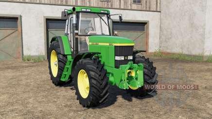 John Deere 7600〡7610〡7700〡7710〡7800〡7810 pour Farming Simulator 2017