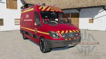 Mercedes-Benz Sprinter (Br.906) Feuerwehr pour Farming Simulator 2017