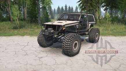 Jeep Cherokee 2-door (XJ) crawler für MudRunner