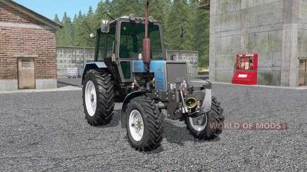 MTZ-Belarus 1025 mit KUN für Farming Simulator 2017