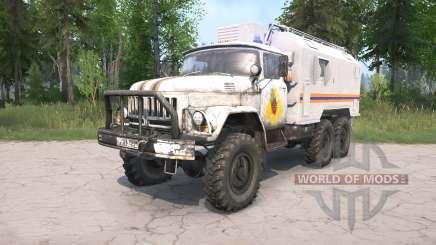 ZIL-131 EMERCOM von Russland für MudRunner