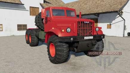 KrAZ-258Б v1.4 pour Farming Simulator 2017