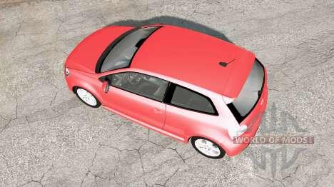 Volkswagen Polo GTI 3-door (Typ 6R) 2010 v1.02 pour BeamNG Drive