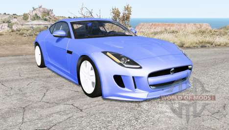 Jaguar F-Type R coupe (X152) 2015 pour BeamNG Drive