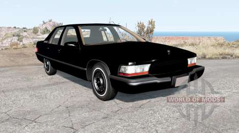 Buick Roadmaster 1996 v2.0 pour BeamNG Drive