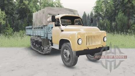 GAZ-53 half-track v2.0 pour Spin Tires