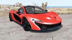 McLaren P1 2014 pour BeamNG Drive