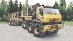 KamAZ-6560 Polar für Spin Tires