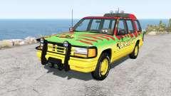 Gavril Roamer Tour Car Beamic Park v3.1.5 pour BeamNG Drive
