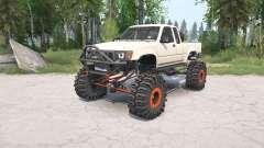 Toyota Hilux Xtra Cab 1991 crawler für MudRunner