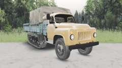 GAZ-53 halb-Spur v2.0 für Spin Tires
