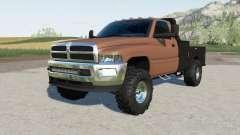 Dodge Ram 3500 Regular Cab flatbed pour Farming Simulator 2017