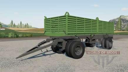 Gosa dump trailer für Farming Simulator 2017