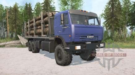KamAZ-43118 pour MudRunner