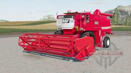Massey Ferguson 6Ձ0 für Farming Simulator 2017