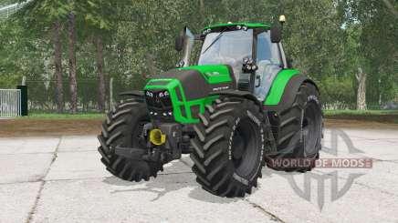 Deutz-Fahr 7250 TTV Agrotrꝍn pour Farming Simulator 2015