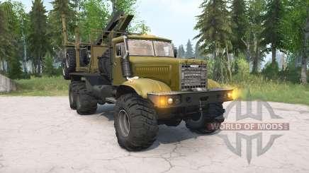KrAZ-255Л für MudRunner