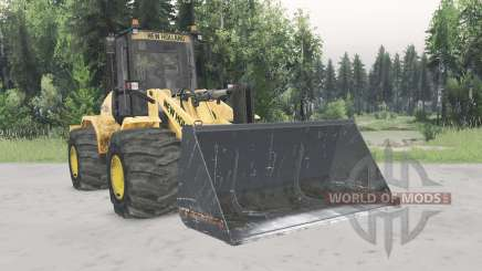 New Holland W170C v1.4 pour Spin Tires