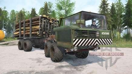 KrAZ-6434 für MudRunner