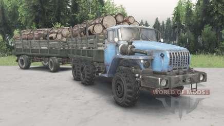 Ural-43Ձ0-10 für Spin Tires