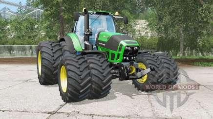 Deutz-Fahr 7250 TTV Agrotroꝴ pour Farming Simulator 2015