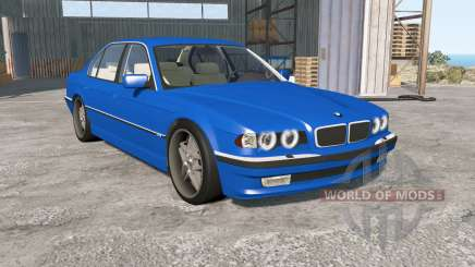 BMW 750iL (E38) 1998 pour BeamNG Drive