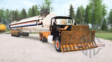 Mack R600 The Tanker für MudRunner