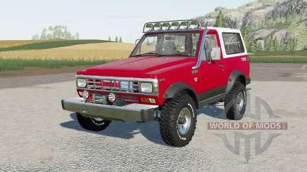 Nissan Safari Hard Top (161) 1983 für Farming Simulator 2017