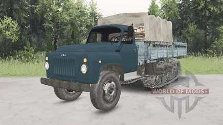 GAZ-53 half-track pour Spin Tires