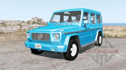 Mercedes-Benz G 270 CDI (W463) für BeamNG Drive