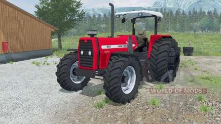 Massey Ferguson 297 Advanced pour Farming Simulator 2013