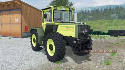 Mercedes-Benz Trac 1400 Turbo Intercooler pour Farming Simulator 2013