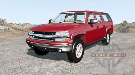 Chevrolet Suburban Z71 (GMT800) pour BeamNG Drive