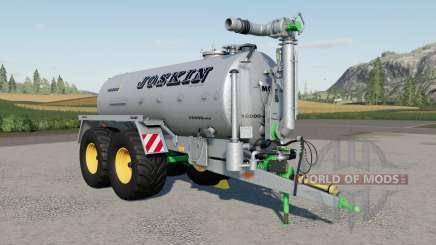 Joskin Modulo2 16000 MESURE pour Farming Simulator 2017
