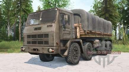 KrAZ-2E-6305 für MudRunner