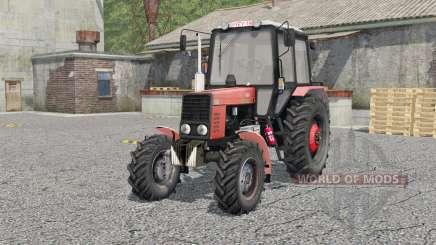 MTZ-82.1 Belarus für Farming Simulator 2017