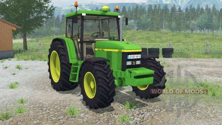 Jean Deerᶒ 6610 pour Farming Simulator 2013