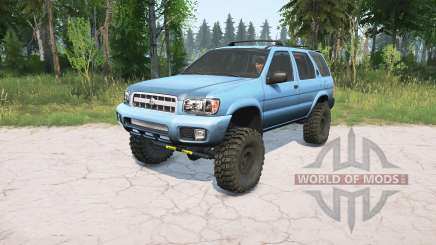 Nissan Pathfinder (R50) 2004 lifted pour MudRunner
