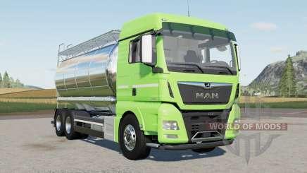 MAN TGX 26.640 Tanker pour Farming Simulator 2017