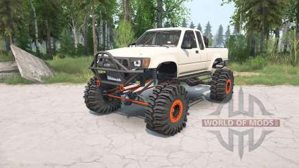 Toyota Hilux Xtra Cab 1991 crawler pour MudRunner