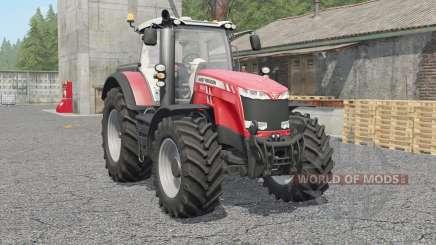 Massey Ferguson 8727〡8732〡87ვ7 für Farming Simulator 2017