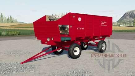 KTU-10 pour Farming Simulator 2017