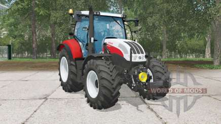 Steyr Profi 4130 CVƬ für Farming Simulator 2015