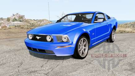 Ford Mustang GT 2005 pour BeamNG Drive