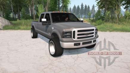 Ford F-350 Crew Cab 2005 pour MudRunner